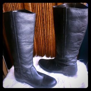BDG Urban Outfitters Leather Riding Boots size 10
